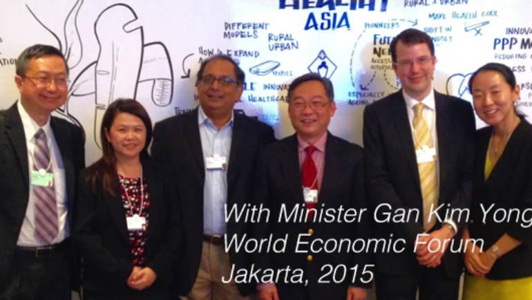 Drum lab represented at 2015 World Economic Forum in Jakarta