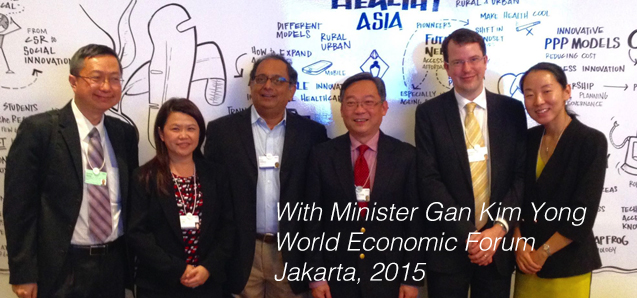 Drum lab represented at 2015 World Economic Forum in Jakarta